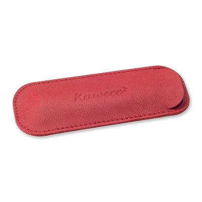 Kaweco Sport lederen etui 2 pennen Rood