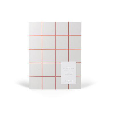 NOTEM Notebook UMA blanco en gelinieerde bladen
