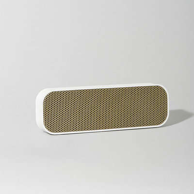 KREAFUNK aGROOVE Bluetooth speaker white