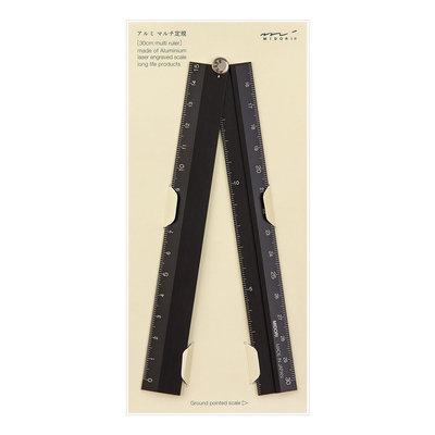 Midori Multiple ruler 30cm Liniaal