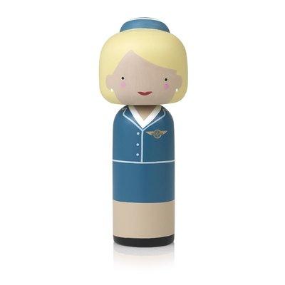 Lucie Kaas Pan Am stewardess - Kokeshi pop