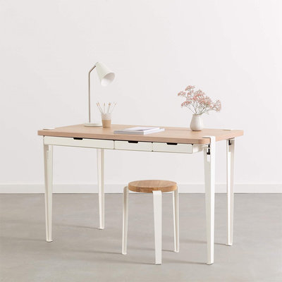TIPTOE Monochrome Desk Bureau Wit
