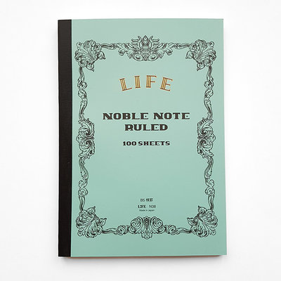 LIFE Noble Notebook B5 gelinieerd