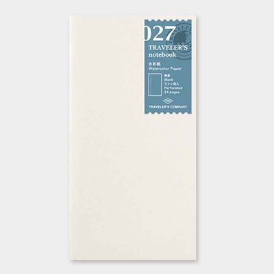 Travelers's notebook -  Watercolor paper refill 027