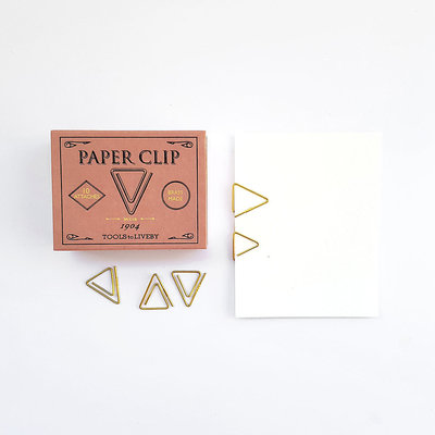 Tools to Liveby Brass Weis Paperclips