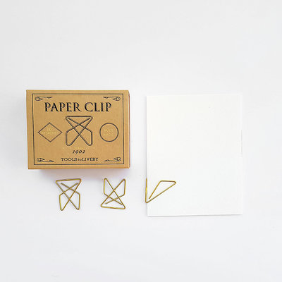 Tools to Liveby Brass Ideal Paperclips