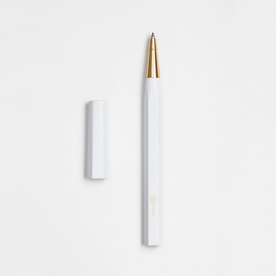 ystudio Resin Rollerball White