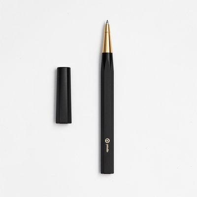 ystudio Resin Rollerball Black