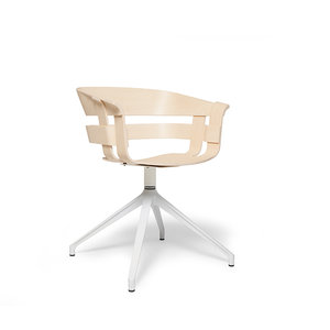 Design House Stockholm wick chair swivel white