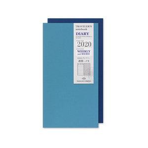 Travelers Notebook 2020 diary weekly