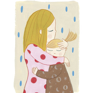 Marta Abad Blay Embrace Sisters poster A3