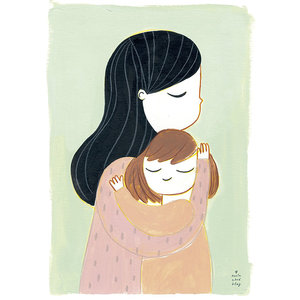 Marta Abad Blay Embrace Mia poster A3