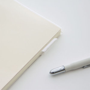 midori MD paper products A5 notebook clear cover