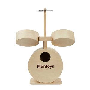 Plantoys wooden drum set