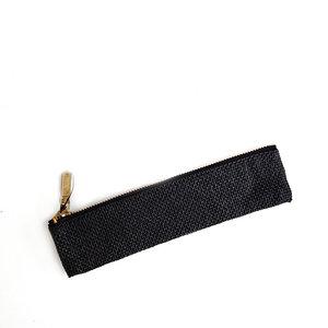 Midori paper cord pen case black