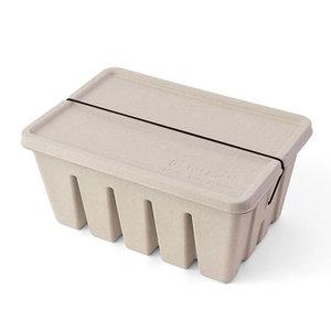 Midori Pulp Toolbox storage box  grijs