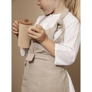 Ferm living kids hale apron sand
