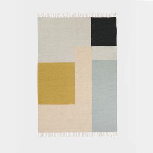Ferm living kelim rug squares large