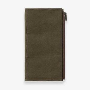 TRC B Sides & Rarities  Cotton Zipper Case olive green