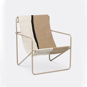 Ferm Living Desert lounge chair soil