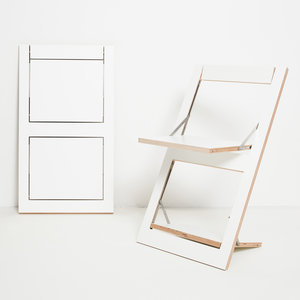 Ambivalenz Folding Chair white