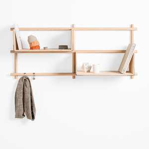 "EMKO Folding Shelves ""opvouwbaar"" wandplankensysteem"