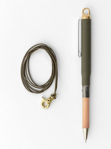 Travelers company Solid brass ballpoint olive edition