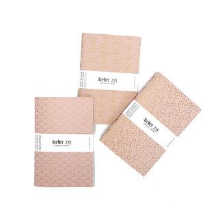 atelier 225 pocket notebook A6 poudre