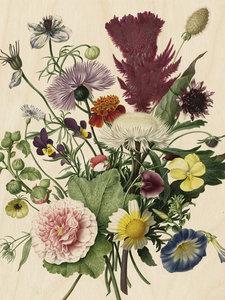 KEK Amsterdam Wild Flowers wood print
