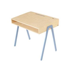 in2wood kids desk large blue