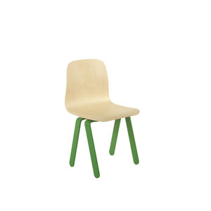 in2wood kids chair small green