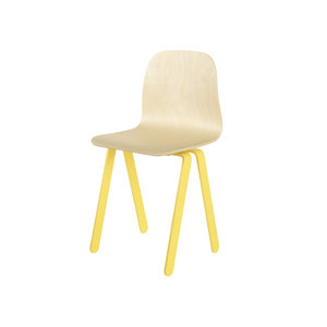 in2wood kids chair large yellow