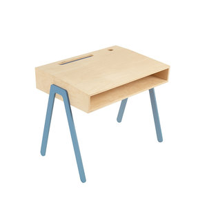 in2wood kids bureau blauw