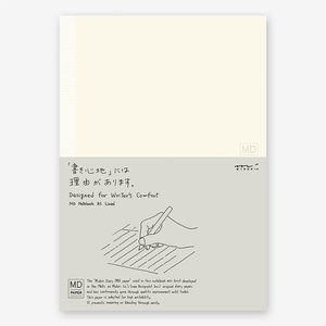 MD paper products notebook A5
