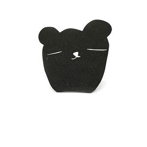 ted & tone wall hook bear face