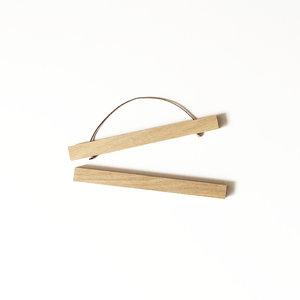 Liljebergs oak magnetic poster hanger A4
