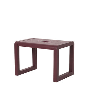 Ferm Living Little Architect  Stool bordeaux