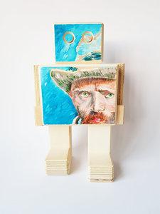 Rijksmeetser Annemiek van Duin Zelfportret Vincent Van Gogh