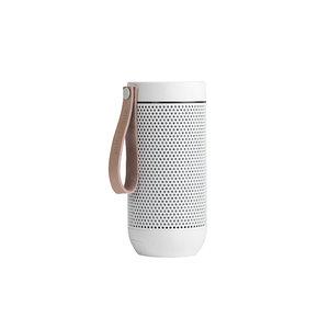 Kreafunk afunk wireless bluetooth speaker white edition