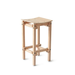 Ubikubi Fair and square bar stool
