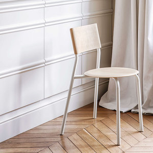 Tiptoe SSD chair white ash