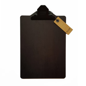 ferm living black stained wood clipboard A4