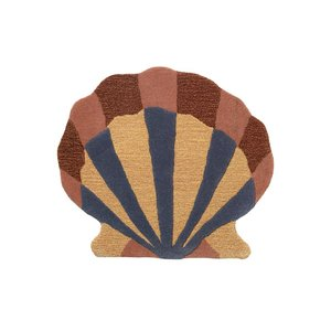 ferm living shell wandkleed