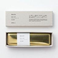 Midori Brass Pencase in box
