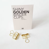 MUS golden binder clips