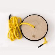 Rafa kids S swing yellow rope